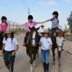 רכיבה חווייתית על סוסי פוני בחוות ראם